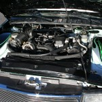 gmc, sonoma, body, drop, 20s, engine bay