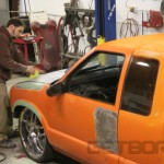 Brandon from The Drag Shop doing work!